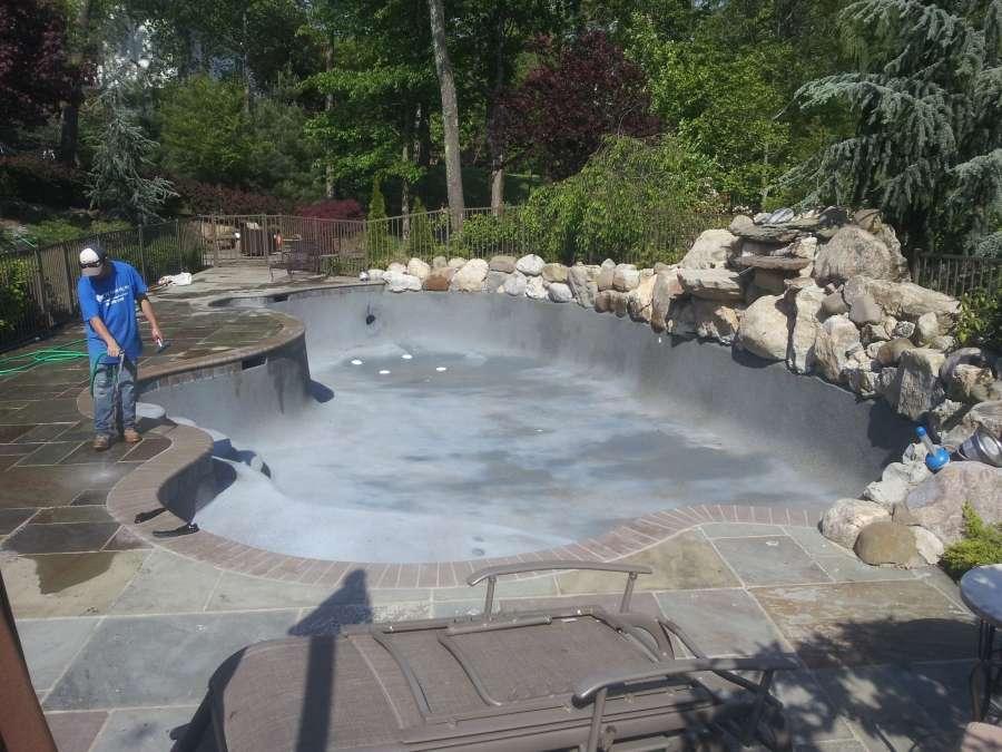 Inground pool under construction (5)