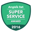 Angie's Super Service 2016 Award Badge