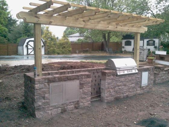 Constructing an Outdoor Kitchen in Belle Mead, NJ