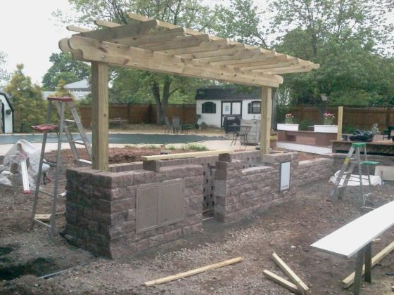 Constructing an Outdoor Kitchen in Belle Mead, NJ (1)