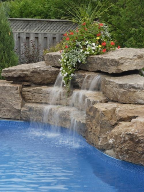 Natural Waterfalls Can Compliment Any Pool