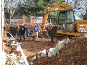 In-Grounds Pool Construction - Preparing the Project