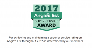 Levco Pools Earns Esteemed 2017 Angie's List Super Service Award