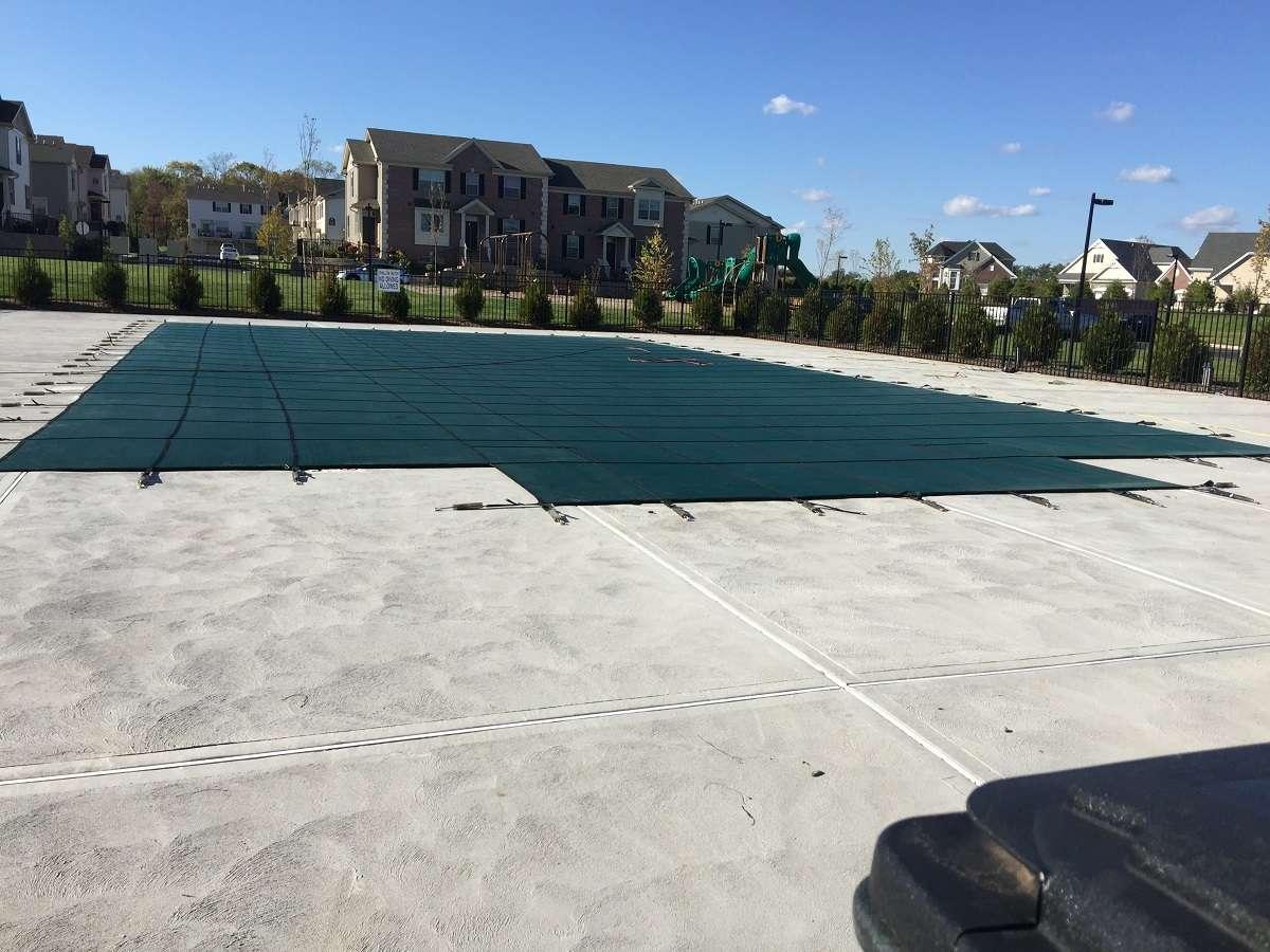 Levco Pools Gunnite / Concrete Pool covering