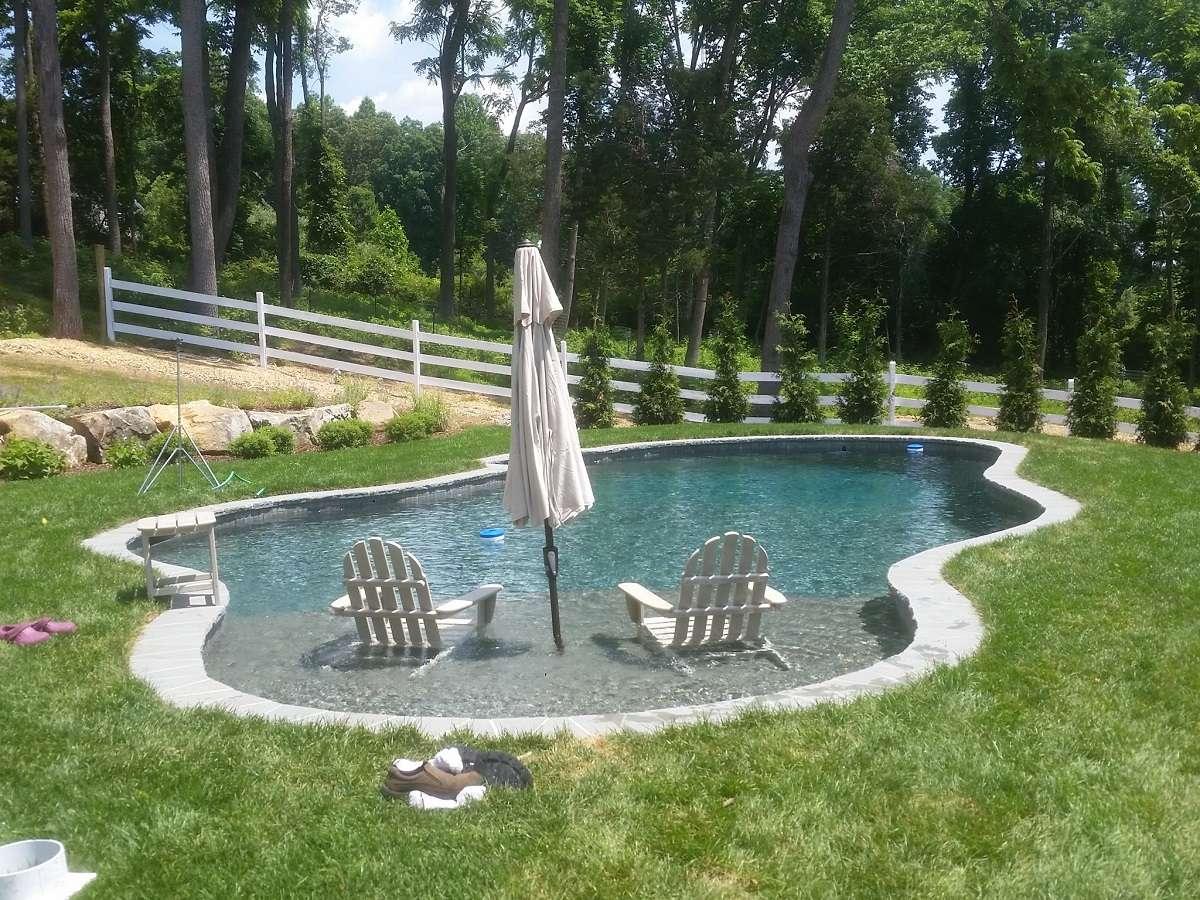 Levco Pools Gunnite / Concrete Pool