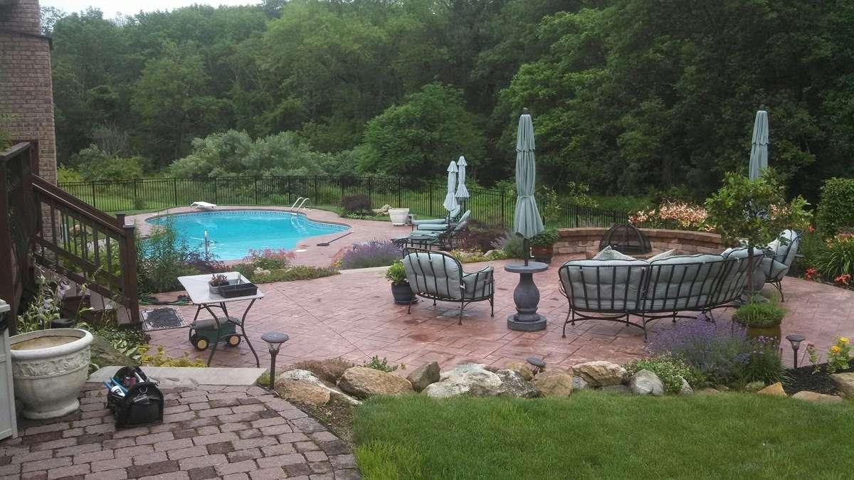 Levco Pools Gunnite / Concrete Pool in an amazing backyard