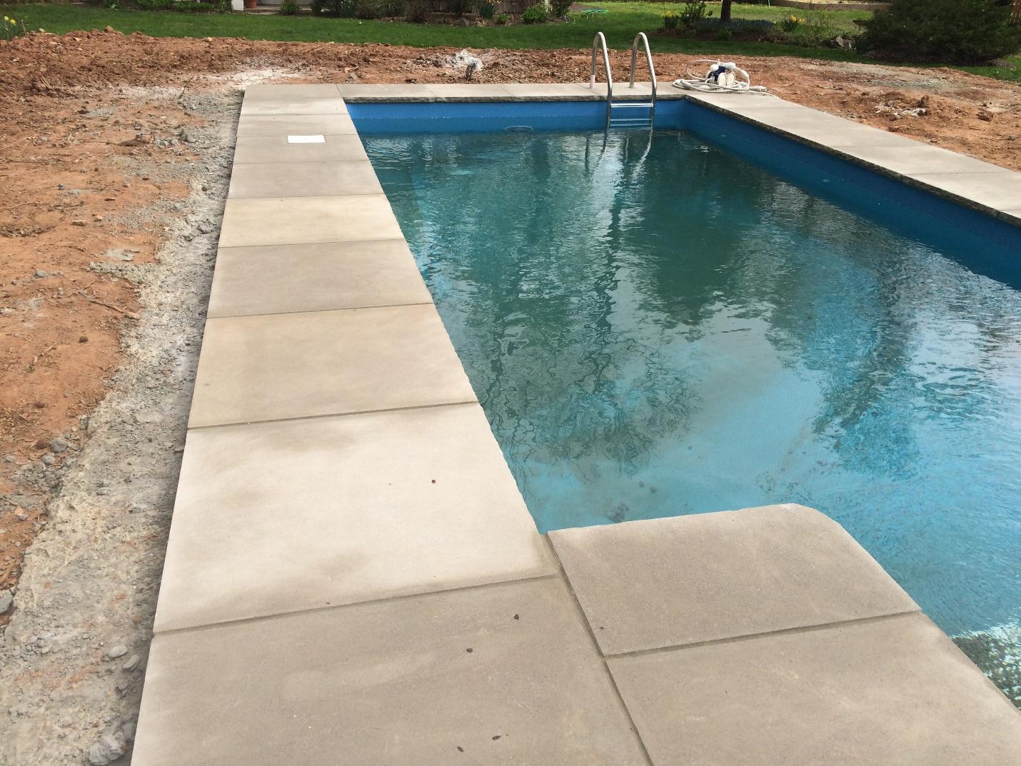 Levco Pools deckign after renovating