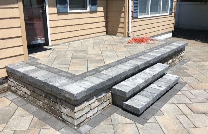 Levco Pools Steps & Decking Construction
