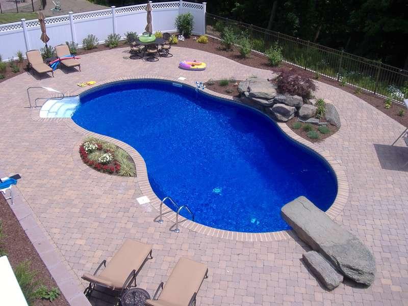 Levco Pools Work - Liner Pool at Hampton Bays 2