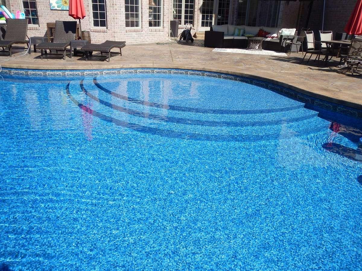 Levco Pools Work - Liner Pool at Sebastian Beach Steps