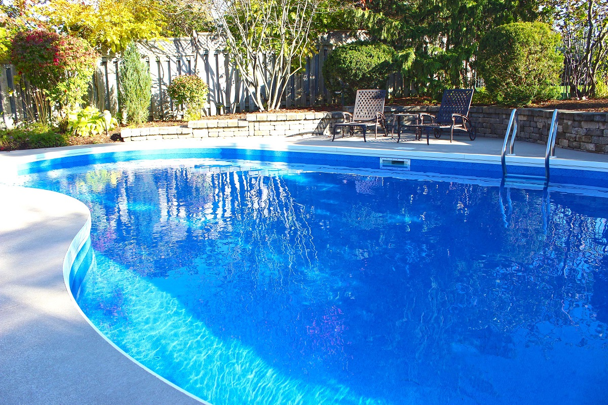 Levco Pools Liner Pool work at Amelia Island 3