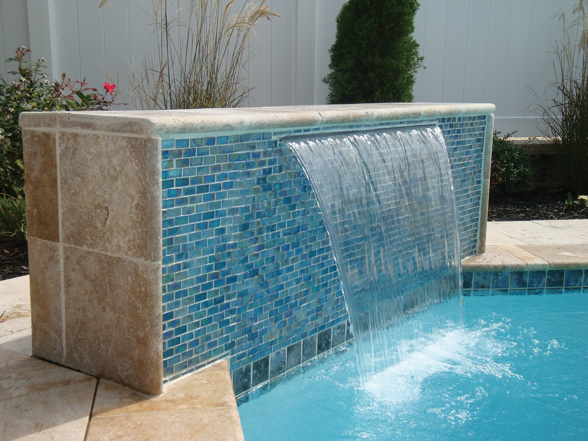 Levco Pools Coping & Tile work